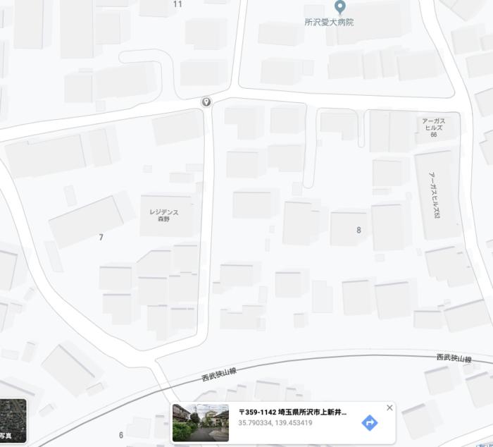グーグルマップの共有