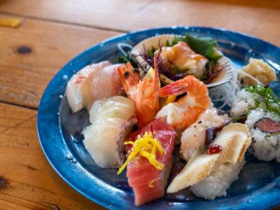 だるまの寿司ランチ
