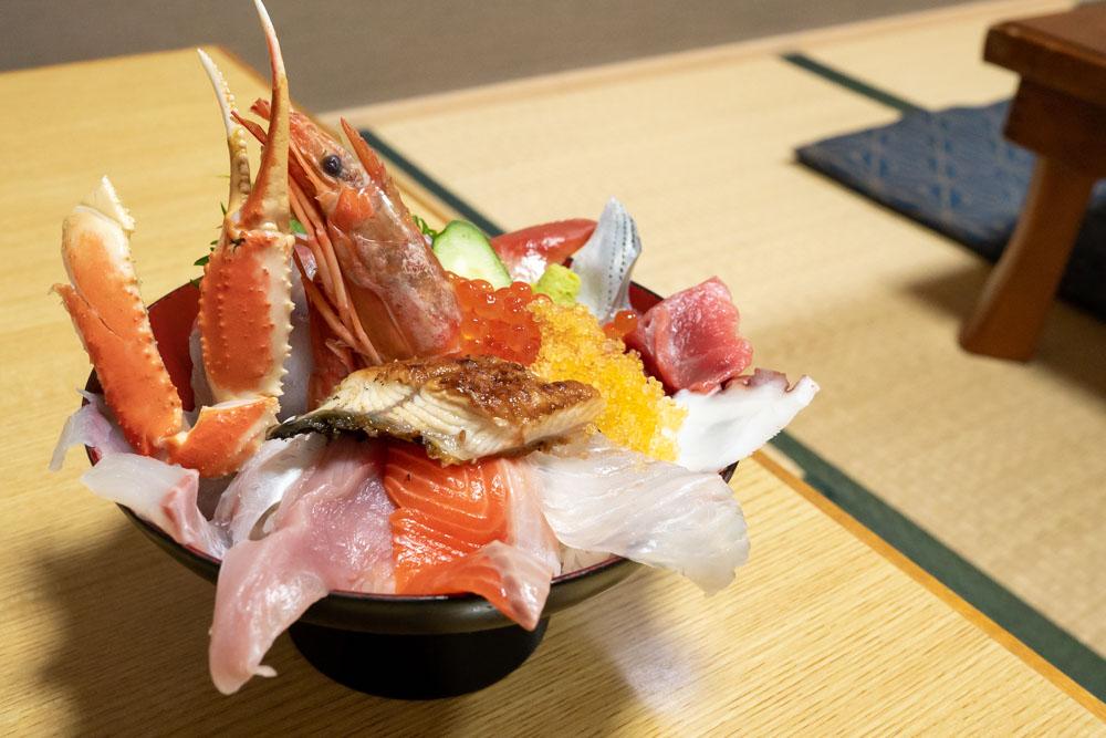 福源の海鮮丼